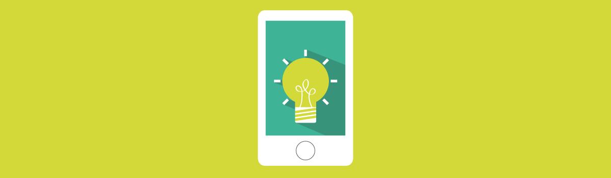 mobile with lightbulb