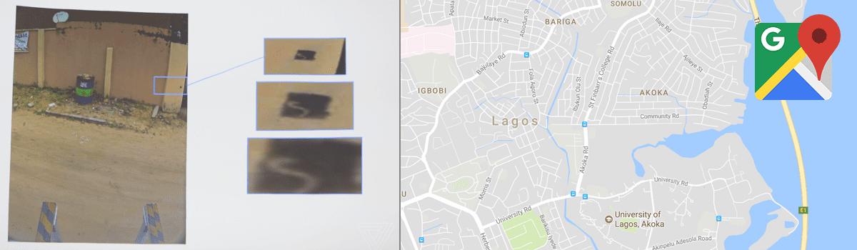 Google Maps AI Lagos