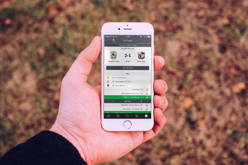 football-coupon-hybrid app-example