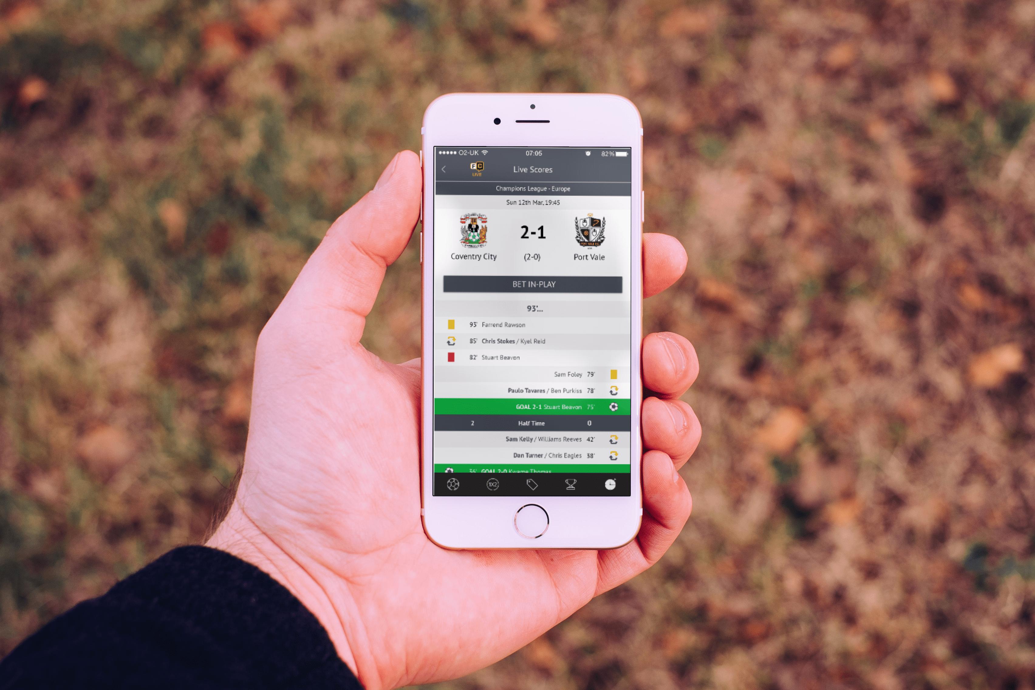 Football Coupon With The Telegraph Hybrid App Sonin App Development