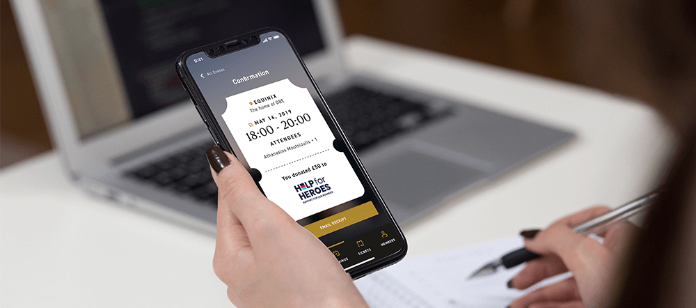 Bespoke event app for Open Banking Excellence