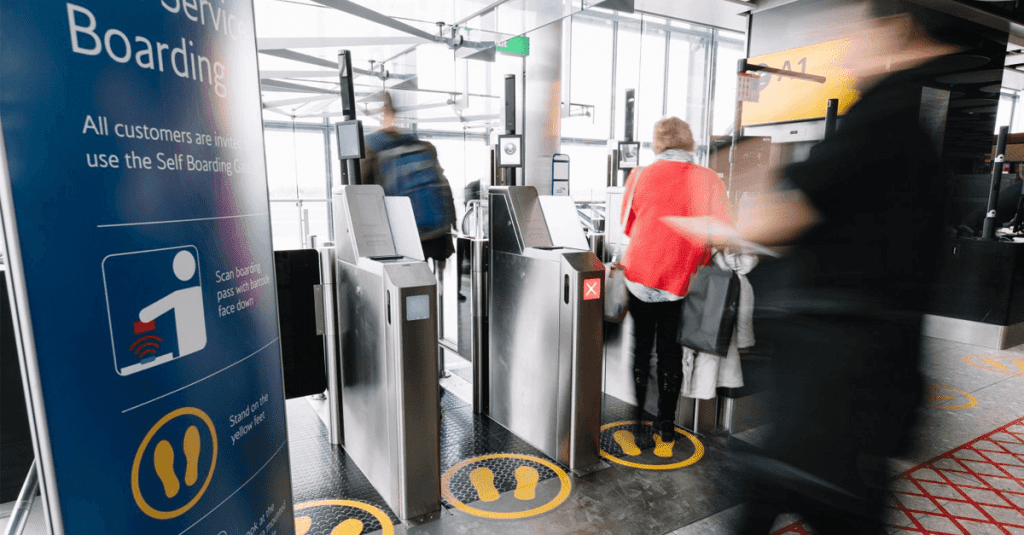 Self-boarding could be improved with contextual UX
